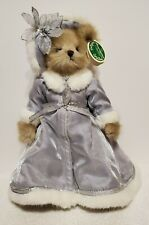"Bearington Bear Collection - Collectible Series, Cecilia, RETIRED, 13"" tall, TA"
