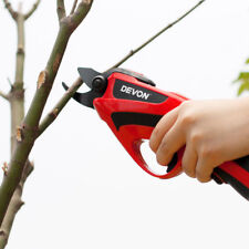 220V Electric Pruning Shear Scissor Mini Tree Branch Trimmer Cutter Cutting Tool