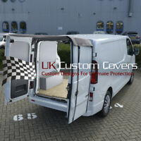 RENAULT TRAFIC 2014 ONWARDS REAR BARN DOOR AWNING COVER - GREY 507