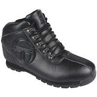 Sergio Tacchini Quay Boot Size 9 Black RRP £70 Brand New  Last Pairs