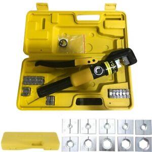 Hydraulik Presszange Kupfer Edelstahl Rohr Pressbacken Radialpresse Werkzeuge DE
