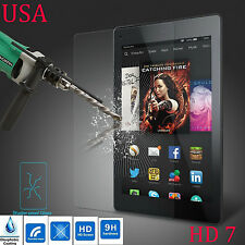 USA TEMPERED GLASS SCREEN PROTECTOR COVER FOR AMAZON KINDLE FIRE HD 7