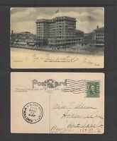 1907 NEW CHALFONTE ATLANTIC CITY NJ POSTCARD