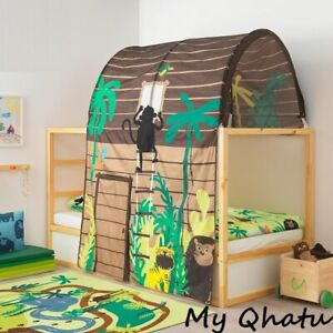 IKEA KURA Bed Tent Jungle Tree House Theme Sleeping Canopy Kid Cottage New