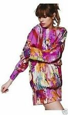 Silk Party Long Sleeve Mini Dresses for Women