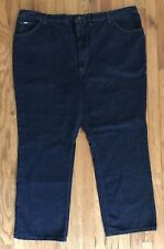 Lee Mens Big & Tall Size 50x30 Dark Wash Jeans Denim Straight Leg Cotton New NWT