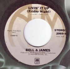 BELL & JAMES: LIVIN IT UP (FRIDAY NIGHT) - A & M