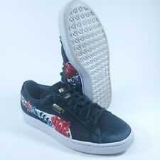 Rare Puma Suede Hyper Embellished Floral 50th Women's Sneakers 366124-01 Sz 7