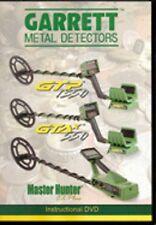 Garrett DVD  GTP 1350  GTAx 550   CX Master Hunter