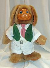 Robert Raikes Wooden Sculpt Rabbit Easter Bunny MR NICKLEBY In Box Signed