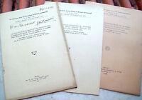 1928 LOTTO DI MEMORIE NEUROLOGICHE DELLO PSICHIATRA GASTONE LAMBERTINI