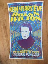 BRIAN WILSON  New Years Eve Redondo Beach Poster 1999