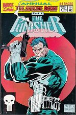 PUNISHER   #5 ANNUAL 1992 MARVEL 64pgs 'SYSTEM BUTES P1' PACELLA/ PANOSIAN...VF