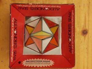 Rare Sealed Alexander's Star Twisty Slide Puzzle Brainteaser