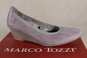 Marco Tozzi Court Shoes Slippers Ballerina Lilac 22303 New