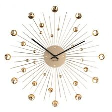 Karlsson sunburst Wall Clock - Gold