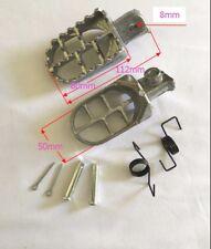 Foot Pegs For Honda CRF 50 70 80 100 150F,  XR50, TW200 Dirt Bike