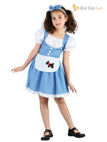 Girls Dorothy Costume Childs Fairytale World Book Week Day Fancy Dress Outfit