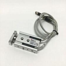 SMC CXSM6-10 Dual Rod Air Cylinder 6mm Bore, 10mm Stroke, M5x0.8 w/ Switches