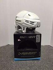 New Bauer Re-Akt Hockey Helmet White Large