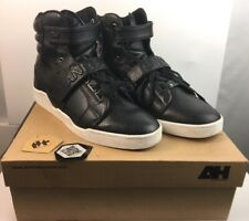 Rare ANDROID HOMME / JACK THREADS Sz. US 11.5 BLACK SNAKE PROPULSION Hi Sneakers