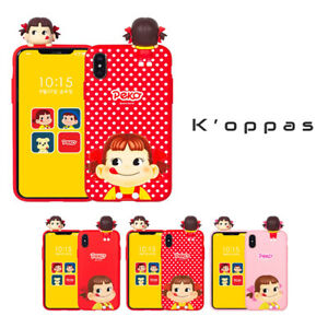 Official Japan Peko Milky Candy Cute Figure Phone Case For iPhone Samsung Galaxy