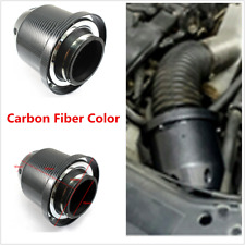 """76mm 3"""" Car Cold Air Intake Filter Induction Kit High Flow Ducting Pipe Hose Kit"""