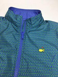 Women's Peter Millar The Masters Reversible Mock Neck Golf Vest •Size M *EUC