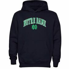NCAA Notre Dame Fighting Irish Men's Navy Tackle Twill Hoodie, X-Large