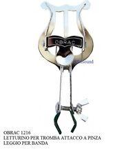 OBRAC 1216 LETTURINO PER TROMBA ATTACCO a PINZA LEGGIO PER BANDA