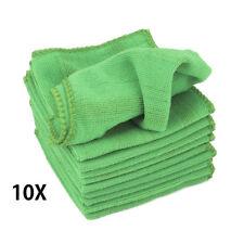 10x 25*25CM Car Soft Microfiber Absorbent Wash Cleaning Polish Towel Cloth
