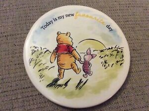 New Winnie the Pooh Coaster -10.5cm Circular Ceramic - Piglet
