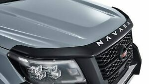 Genuine Nissan Navara MY21+ Smoked Bonnet Protector F5160-6KG0BAU  PROTECTOR-BON