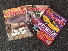 four 1995 Wheels magarzines