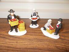Dept. 56 Amish Family 3 Piece Set Heritage Village