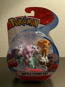 WCT 2021 Pokemon Battle Figure Set Galarian Ponyta Vulpix Wooloo 3 pack NEW MISB