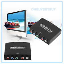 Hot 1080P HDMI to 5RCA Component RGB YPbPr Video +R/L Audio Converter Adapter UB