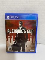 Alekhine's Gun (Sony PlayStation 4, 2016) Game Tested. CIA PS4