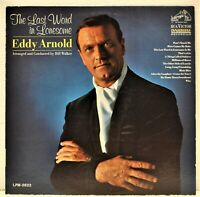 "EDDY ARNOLD ""The Last Word In Lonesome""  Vinyl LP RCA Victor LPM-3622"