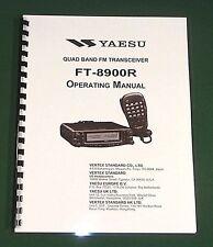 Yaesu FT-8900R Operating manual -  Premium Card Stock Covers & 32 LB Paper!