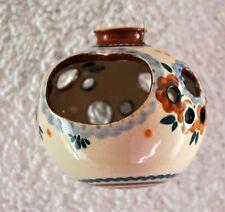 Töpfer Windlicht Ampel Kugel Teelichthalter hängend getöpfert 8 cm