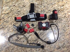 Spy Gear SPY GO Action Camera VIDEO Camera w/ Head Strap (tested)