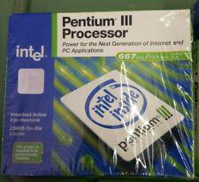 Vintage Year 2000 Pentium III Processor 667 MHz NEW