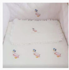 cot cot bed complete set; Peter Rabbit, Jamima puddle duck, Mopsy