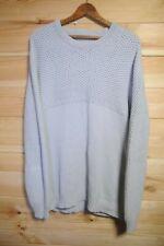 Tiger of Sweden Jumper Sweatshirt Knitted Cotton Large Light Grey