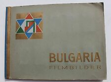 8172 BULGARIA FILMBILDER Zigaretten Album 1932 210 photo film cards