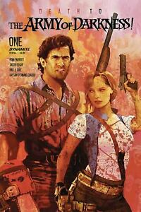 DEATH TO ARMY OF DARKNESS #1 SUYDAM VARIANT 2020 DYNAMITE 2/19/20 NM
