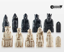 "Isle of Lewis Chessmen, True 1:1 Replica, 4"" King, Lewis Chessmen, Harry Potter"