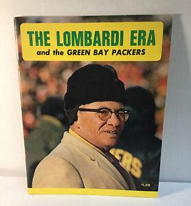 Green bay Packers vintage yearbook The Lombardi years 1968 hof