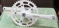 hutch pro racer old bmx white Sugino GT 3pc. crank performer freestyle bike dyno
